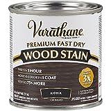 Varathane 262029 Premium Fast Dry Wood Stain, Half Pint, Kona