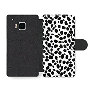 Cute and Fashion Dalmatian print cool Faux Leather case for HTC One M9 by ruishername
