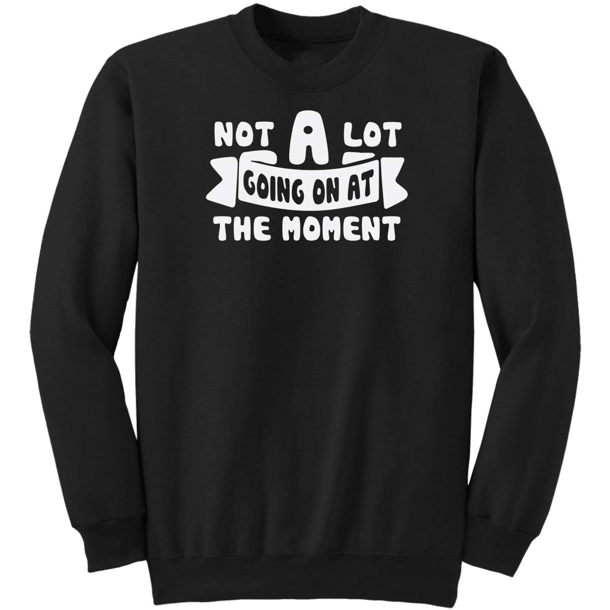 Not A Lot Going On at The Moment Funny Gifts Idea Jokes for Mens WOM Sweatshirt