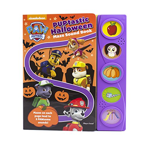 Halloween Reading Activities 1st Grade (PAW Patrol - PUPtastic Halloween Maze Sound Book - PI)