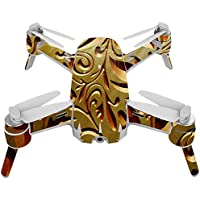 Skin For Yuneec Breeze 4K Drone – Mosaic Gold | MightySkins Protective, Durable, and Unique Vinyl Decal wrap cover | Easy To Apply, Remove, and Change Styles | Made in the USA
