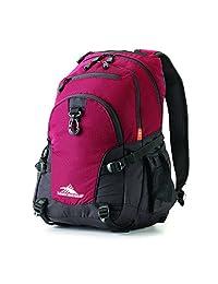 High Sierra 53646-5802 Loop Backpack, Cranberry/ Black, International Carry-On