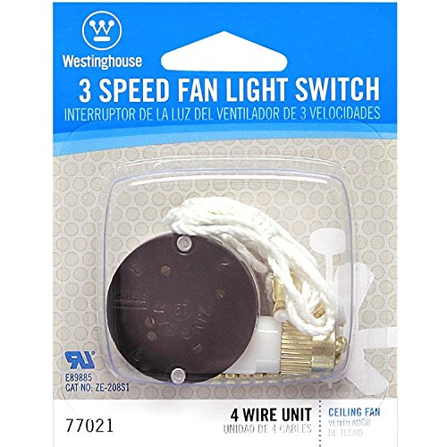 Westinghouse 3 Way Fan Light Switch Wiring Diagram : Westinghouse  speed fan switch import it all