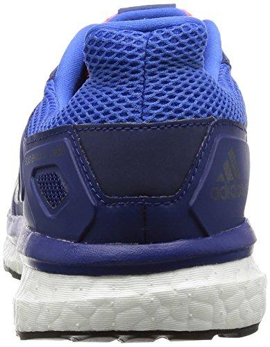 adidas Herren Supernova Glide 8 Laufschuhe Blau (Blau/Schwarz/Blau)