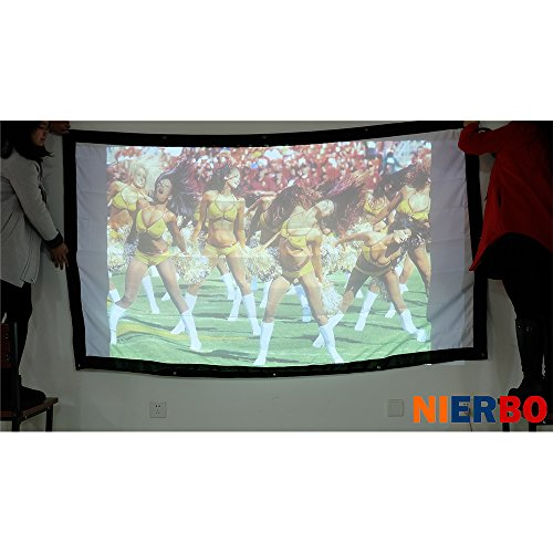 Definition Modular Classroom : Projector screen high definition portable white
