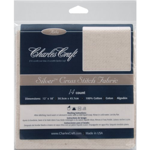 DMC FR315-5452 Cotton Silver Label Fiddler's Cloth, Light Oatmeal, 14 Count