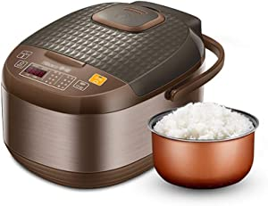 Old fashioned Rice Cooker (3 liters/ 600W/ 220V) Home Intelligent Insulation Multi-function Quality Inner Pot Spoon Steamer And Measuring Cup Mini Dormitory Small Appliances Can Accommodate Up To 4 Pe