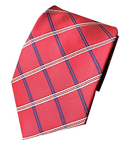 281fbcf36a88 MENDENG New Classic Plaids Check Baby Blue Jacquard Woven Silk Men's Tie  Necktie - Buy Online in Oman. | Apparel Products in Oman - See Prices, ...