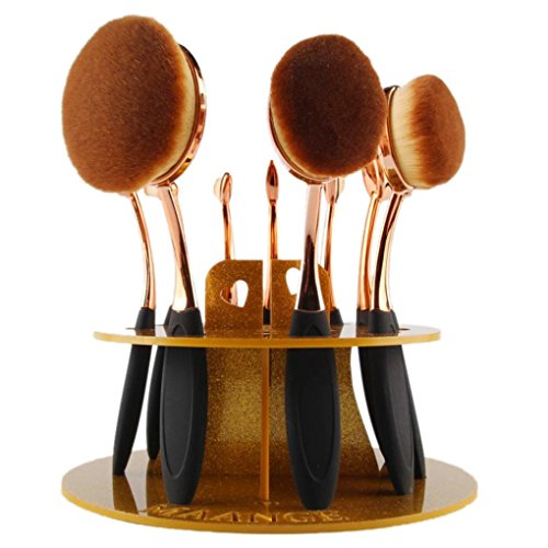 Internet Make-up Pinsel 10 Loch Oval Verfassungs Bürsten Halter Wäscheständer Organizer Cosmetic Shelf