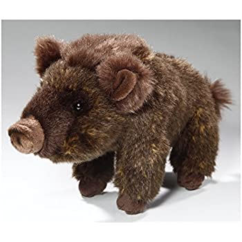 Boar, Wild Pig standing, 8 inches, 22cm, Plush Toy, Soft Toy, Stuffed Animal