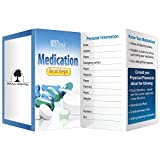 BIC Graphic Key Point: Medication Record Keeper White 500 Pack