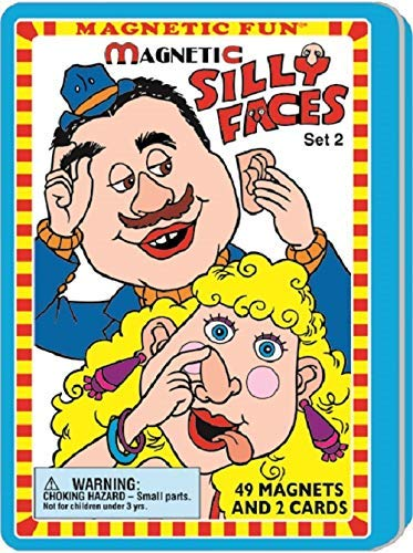 (Silly Faces Magnetic Fun¨ Tin Set 2)
