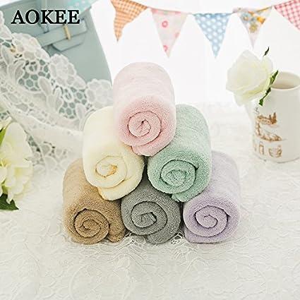 Generic color07, 34 x 80 cm: aokee marca toallas de ducha de 34 * 80 cm ...