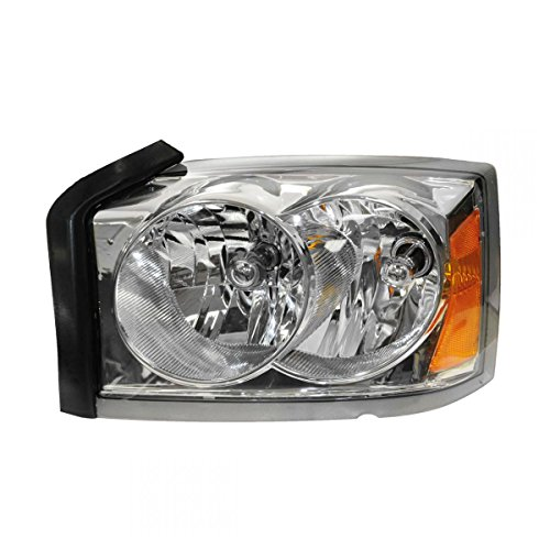 Headlight Headlamp Driver Side Left LH for 05-07 Dodge Dakota Pickup Truck ()