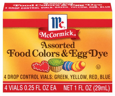 McCormick Assortment Food Colors - 12 Pack - Buy Wholesale Food