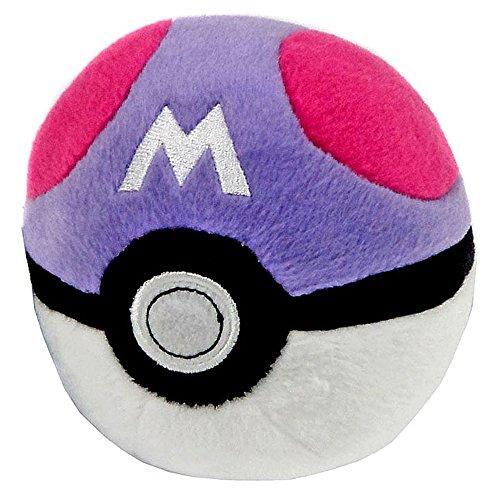 Pokemon-Master-Poke-Ball-de-peluche-Blanco