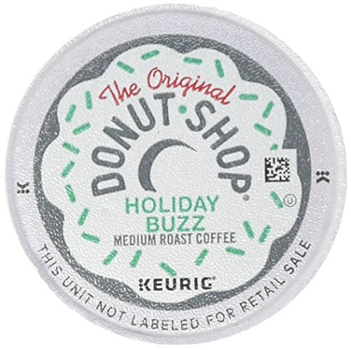 - The Original Donut Shop Coffee Holiday Buzz Keurig K-Cups (72 Count)