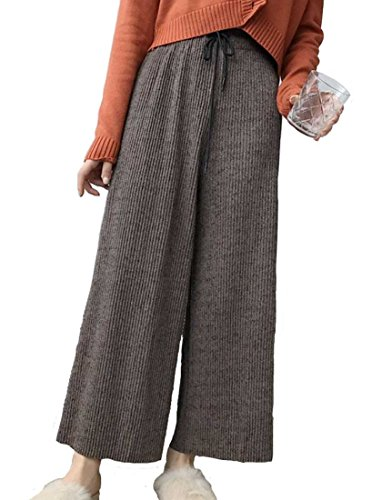 ふさわしいプログラム放つHeaven Days(ヘブンデイズ) パンツ ズボン ワイドパンツ 9分丈 ハイウエスト カジュアル リラックス レディース 1711M0190