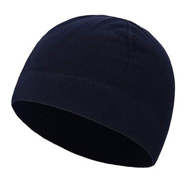Invierno Hombres Fleece Sombrero Ciclo cálido Pesca Sombreros ...