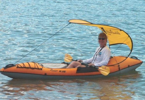 WindPaddle Gold Sun Shade - Medium size