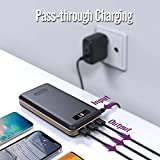 Portable Charger 30000mAh iMuto Power Bank X6 USB