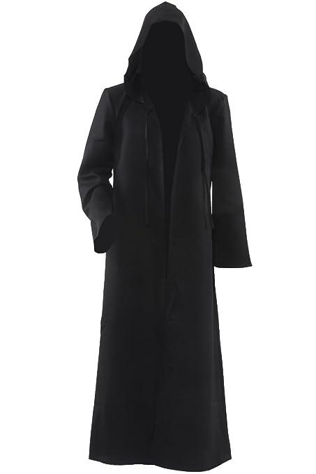 Hombres con capucha capa disfraz de caballero Cool Cosplay disfraz ...