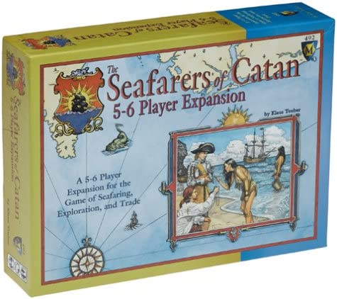 Mayfair The Seafarers of Catan 5-6 Player Expansion: Amazon.es: Juguetes y juegos