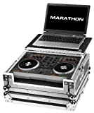 Marathon Flight Road Case MA-MIXTRACKLT Case to Hold 1 x Numark Mixtrack or Mixtrackpro Music Controller with Laptop Shelf