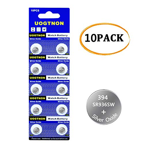 394 SR936SW Watch Battery 1.5V Button Cell (10-Pack) (Battery 394 Swatch)