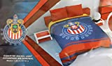 Premium Soccer Teams 100% Polyester Bed Blankets (Choose Size & Design) (71'' W x 87'' H Full Size, Chivas)