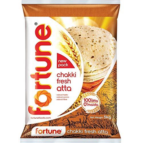 Fortune Chakki Fresh Atta, 5kg (B07VHDS3T3) Amazon Price History, Amazon Price Tracker