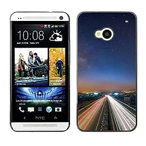"For HTC One ( M7 ) , S-type Naturaleza Hermosa Forrest Verde 13"" - Arte & diseño plástico duro Fundas Cover Cubre Hard Case Cover"