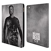 Official AMC The Walking Dead Abraham Double Exposure Leather Book Wallet Case Cover For Apple iPad Air 2