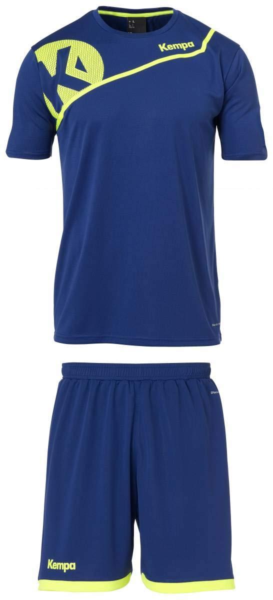 Kempa Core 2.0 Training Set Trikot und Short Handball dunkelblau