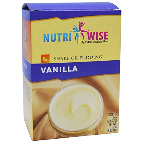 NutriWise - Vanilla Protein Diet Shake/Pudding (7/Box) by NutriWise