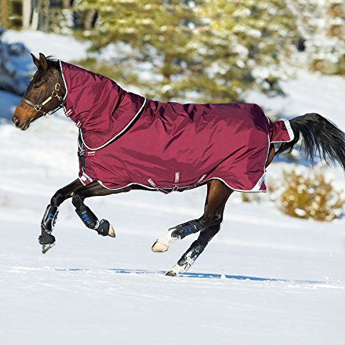 Horseware Rambo Duo Burgundy 81 by Rambo