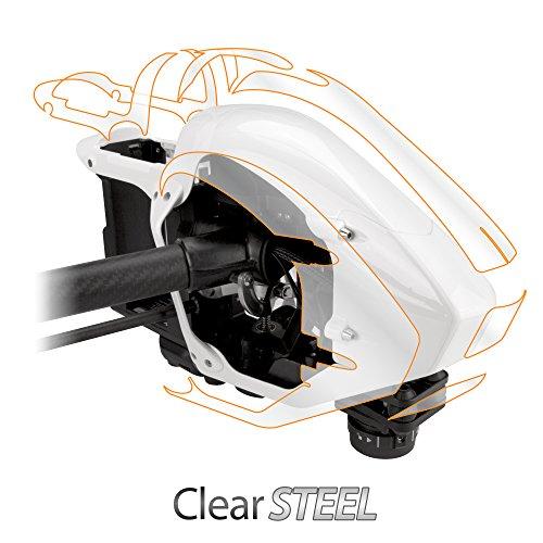 DJI Inspire 1 Case, BoxWave [ClearSteel] Strong as Steel, Lightweight Clear Skin for DJI Inspire 1