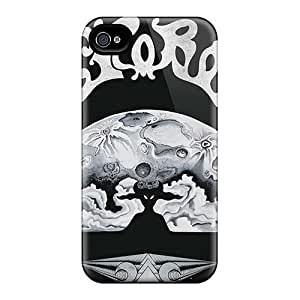 Iphone 4/4s VcG12021NRij Allow Personal Design Lifelike Rolling Stones Image Shock Absorption Cell-phone Hard Cover -CharlesPoirier