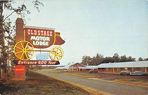 Colonial Heights Virginia Old Stage Motor Lodge Vintage Postcard K825881