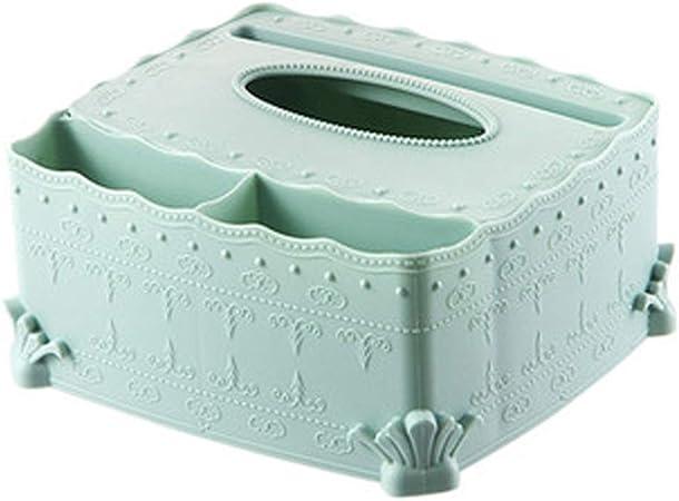 Tissue box Caja de pañuelos Caja de pañuelos pañuelo Caja Moderna Caja de pañuelos Tallada Creativa hogar Sala de Estar pañuelo Caja Escritorio Mesa de café Organizador de Tejidos: Amazon.es: Hogar