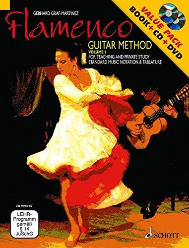 Flamenco Guitar Method Volume 1: Book/CD/DVD Pack ()