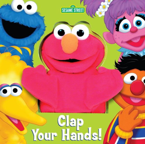 Clap-Your-Hands-Sesame-Street-Puppet-Book