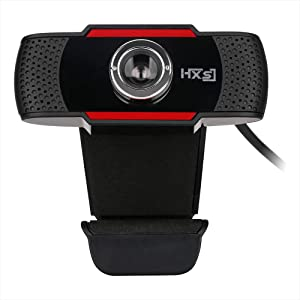 Docooler HXSJ S20 High-Definition Webcam Manual Focus Computer Camera Built-in Sound Absorbing Microphone for Desktop Computer Laptop