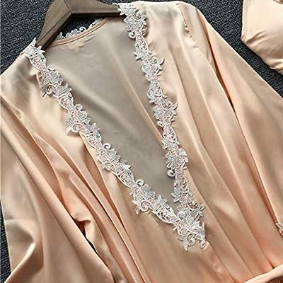KLFGJ Women 5PC Sexy Lace Lingerie Sets, Printed Nightwear Ladies Underwear Babydoll Sleepwear Exotic Dress at Women's Clothing store