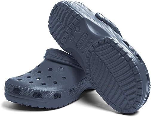 Zuecos Sanitarios Mujer Hombre Zapatillas de Jardín Goma Trabajo Sandalias Verano Playa Piscina Deportivas Antideslizante 1-1-FB-Azul EU37: Amazon.es: Zapatos y complementos