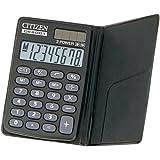 シチズン 手帳サイズ電卓(8桁表示) DE8001Q