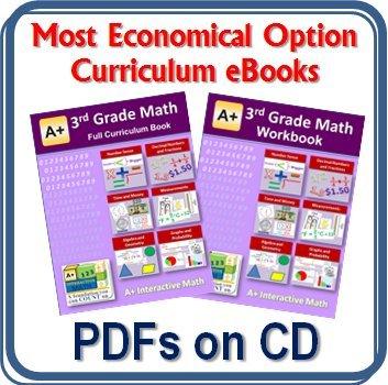 Amazon.com: 3rd, Third Grade Math Curriculum Bundle - Lessons ...