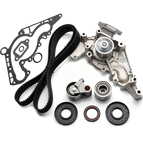 (Timing Belt Kit with Water Pump, ECCPP TBK298WPT for 1998-2007 Lexus Toyota Tundra 4Runner Sequoia 4.7L 2UZFE)