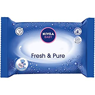 Nivea Baby Fresh & Pure Wet Wipes 63x