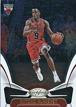 2018-19 Panini Certified  14 Antonio Blakeney NM-MT Chicago Bulls Official  NBA 0a8209673